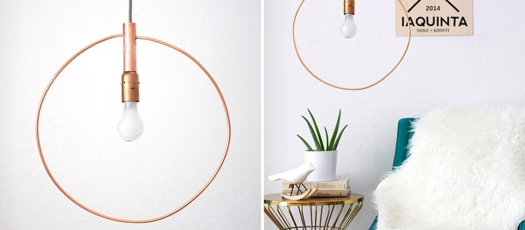 Modern Light Fixtures You Can DIY This Weekend