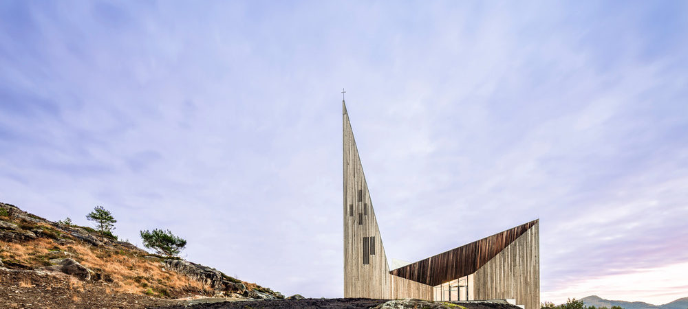 Community Church in Norway Displays Iconic Geometry