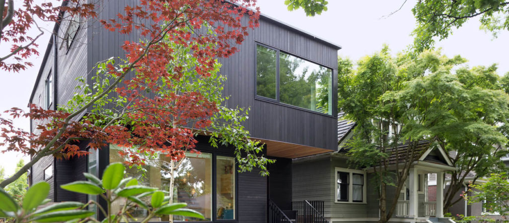 Contrast at Play in Contemporary Vancouver Residence