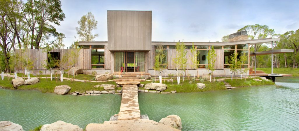 Modern Ranch Home Views Showcase Big Sky Country