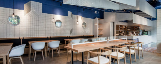 PARAS Cafe Offers Study Space with Minimalist Style
