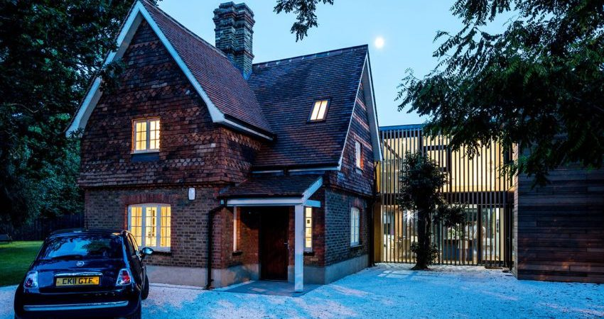 Charming Family Cottage in England Gets Contemporary Update