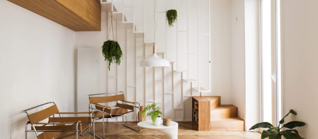 Ethereal Staircase in Parisian Expansion