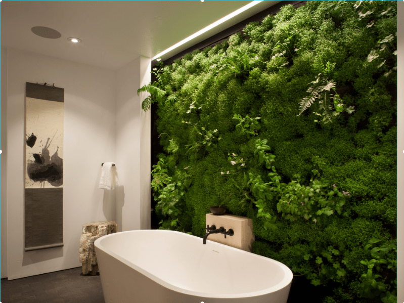 Bathroom Living Wall Freshome