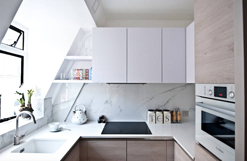 Free Up Counter Space with These Small Kitchen Organization Ideas | Freshome.com
