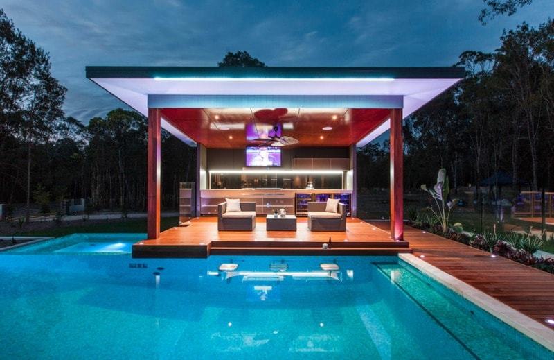 Outdoor Living Swimming Pool Cabana Designs Freshome