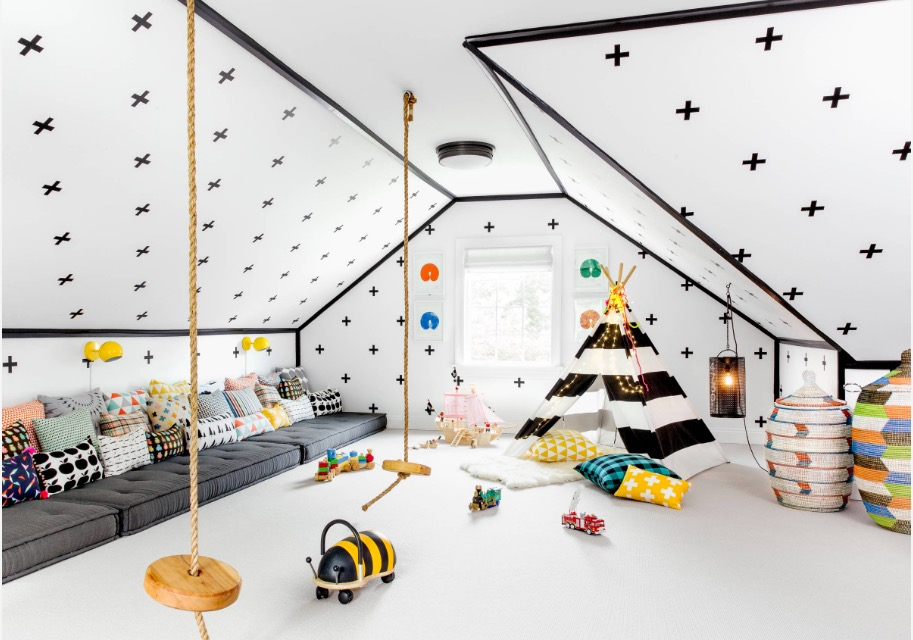 Use These Kid\'s Playroom Ideas To Create A Fun And Functional Space