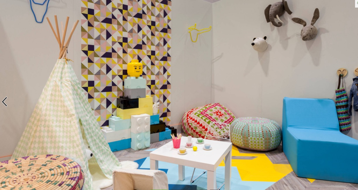 Use patterns in playrooms