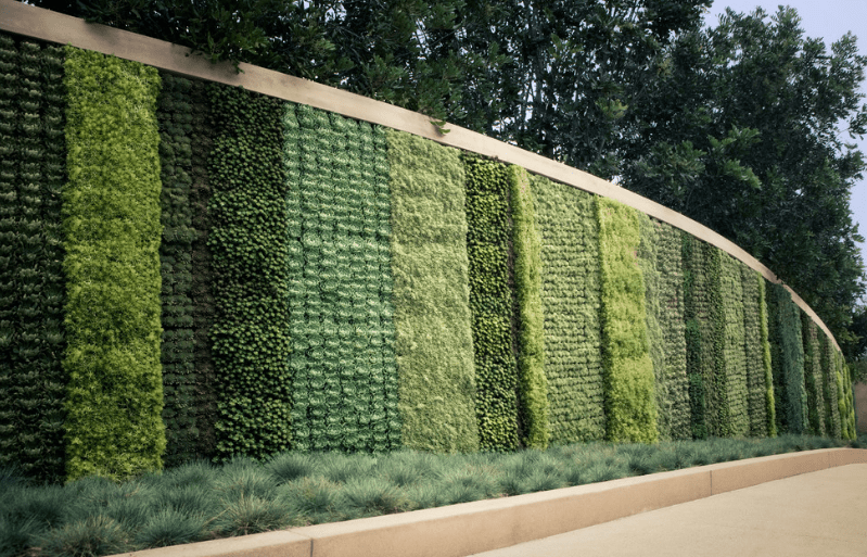 Vertical Living Wall Contemporary wall gardens - freshome.com