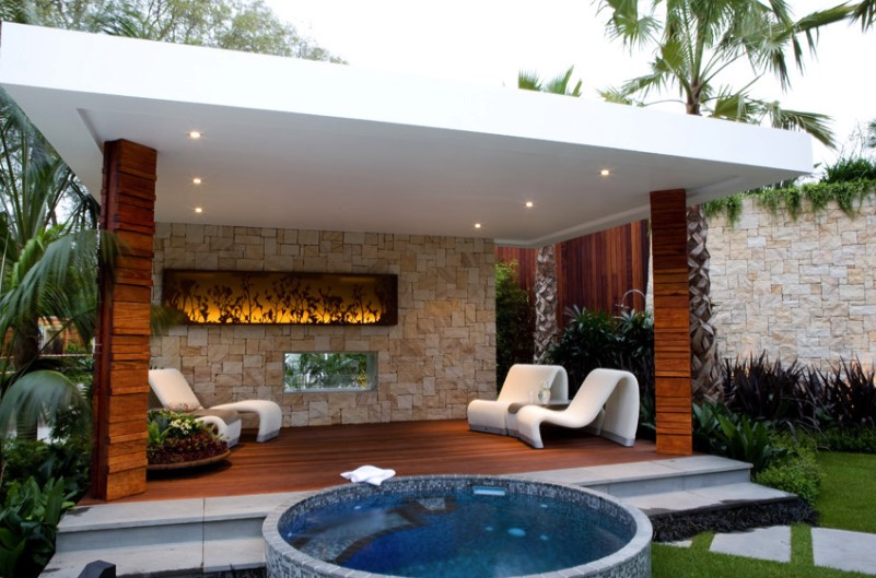 Beauty On A Budget Above Ground Pool Ideas Freshome Com