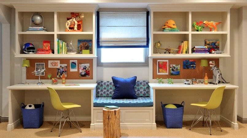 30 Back-to-School Homework Spaces and Study Room Ideas You'll Love