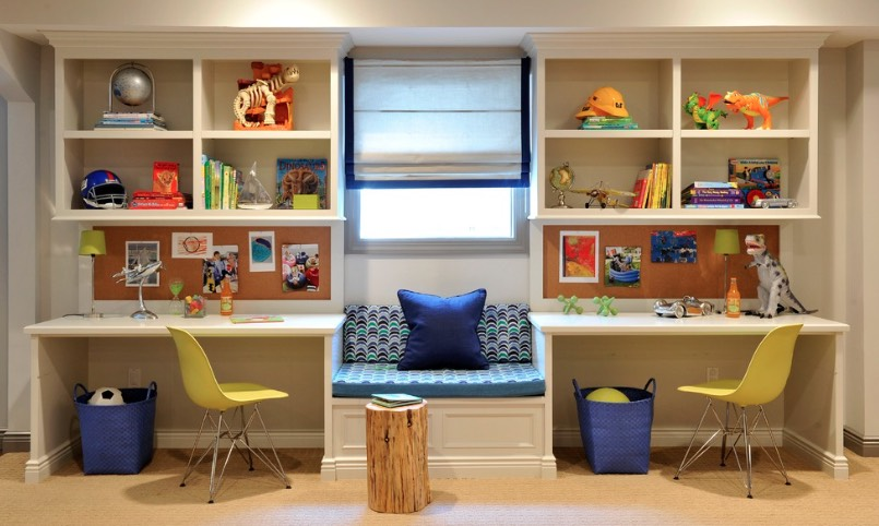 30 back to school homework spaces and study room ideas you ll love rh freshome com how to decorate children's study room