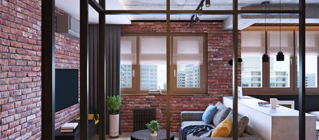Surprising Layout Revealed in Industrial Apartment in Russia