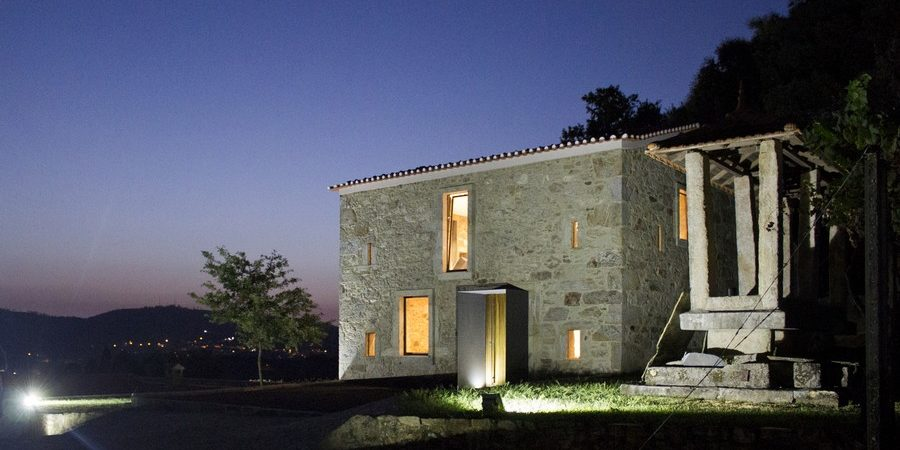 Refurbished Stone House in Portugal Unveils Modern Interiors