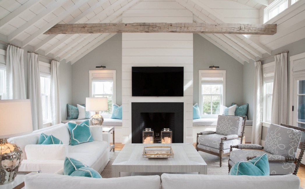 Beach Cottage Design Ideas Country Beach Cottage Decor Cottage Wall ...