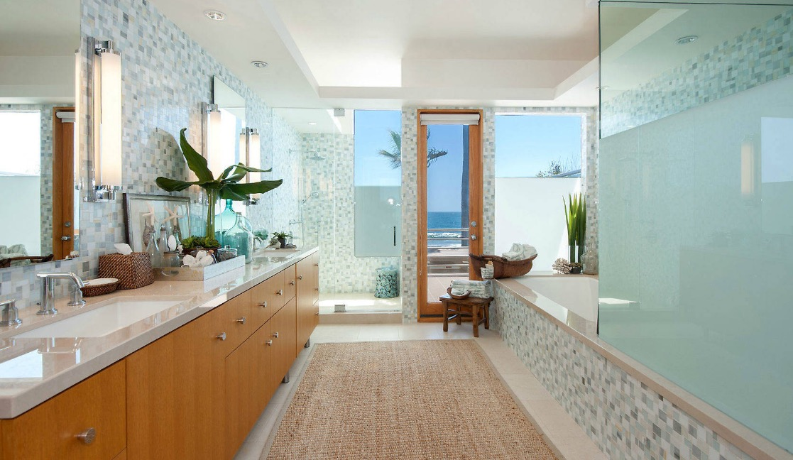 Beau Modern Coastal Design Feels Airy.
