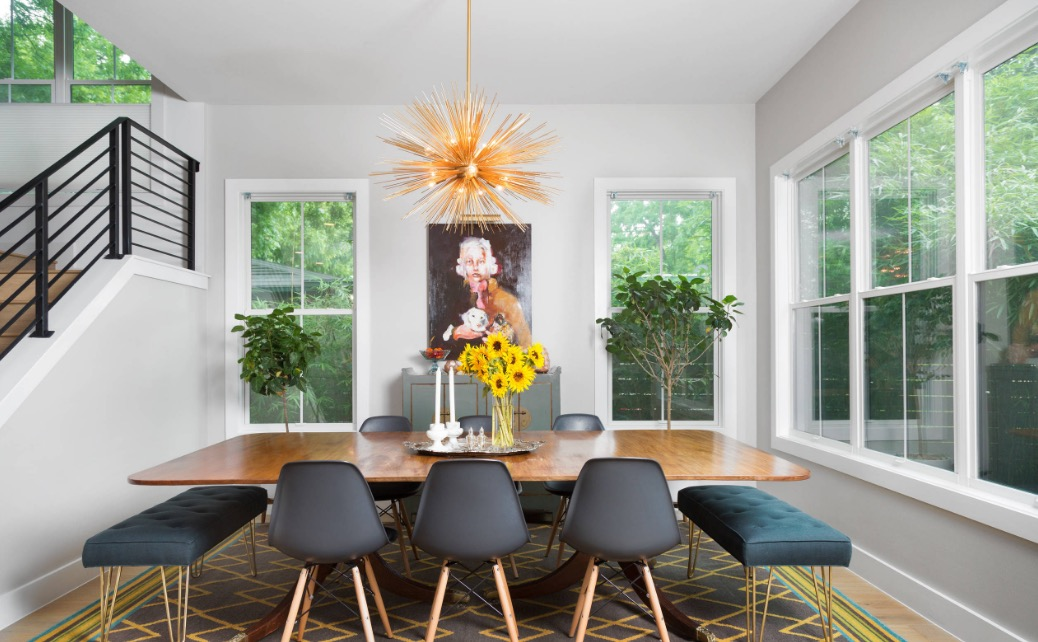 4 of the Top 2017 Dining Room Trends Worth Drooling Over