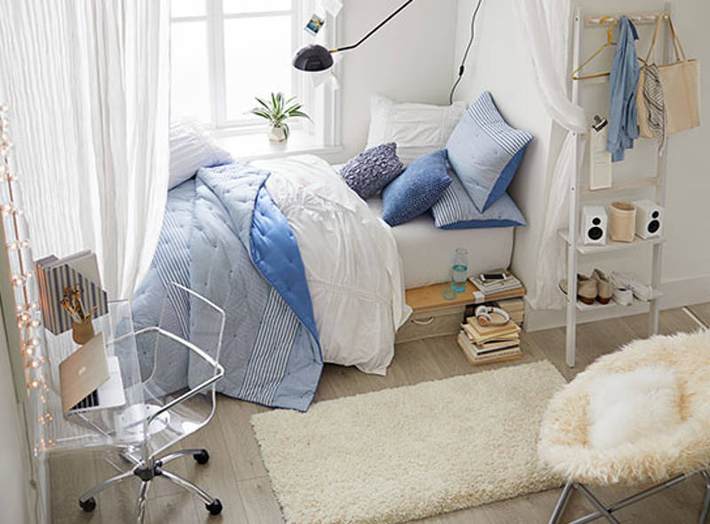 5 fresh dorm storage ideas for a cool modern space - Dorm underbed storage ideas ...
