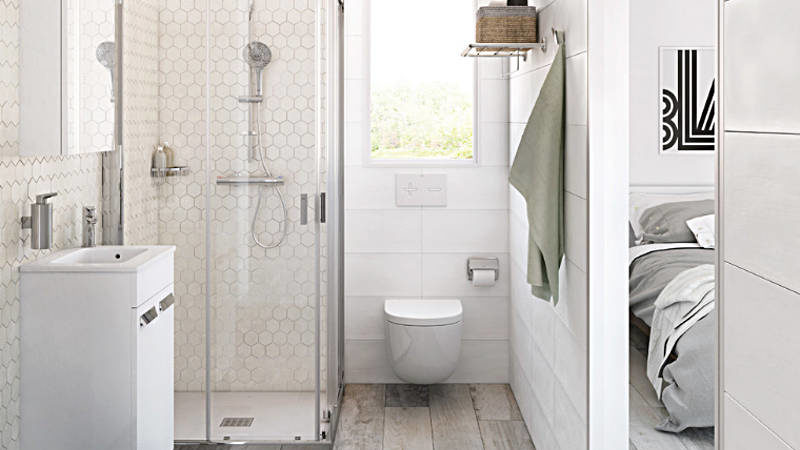 There's a Small Bathroom Design Revolution and You'll Love These Rule-breaking Trends