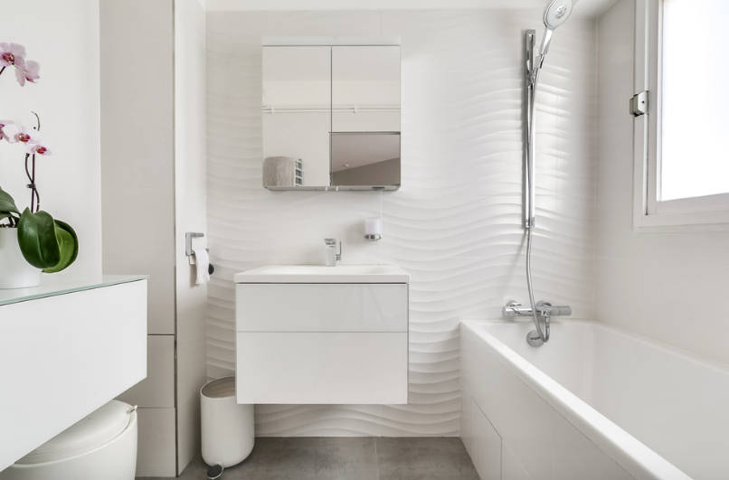 Enjoyable New Exciting Small Bathroom Design Ideas Freshome Com Download Free Architecture Designs Ferenbritishbridgeorg