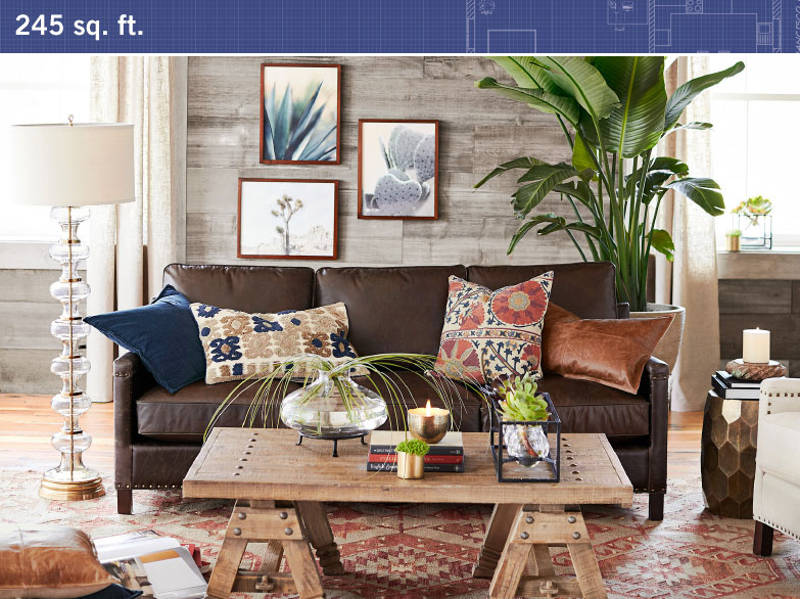 Pottery Barn S Small Es Collection Makes Furnishing Your Tiny Home A No Brainer