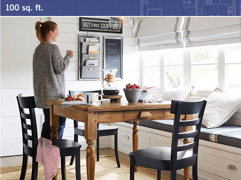 Pottery Barn S Small Spaces Collection Makes Furnishing Your Tiny