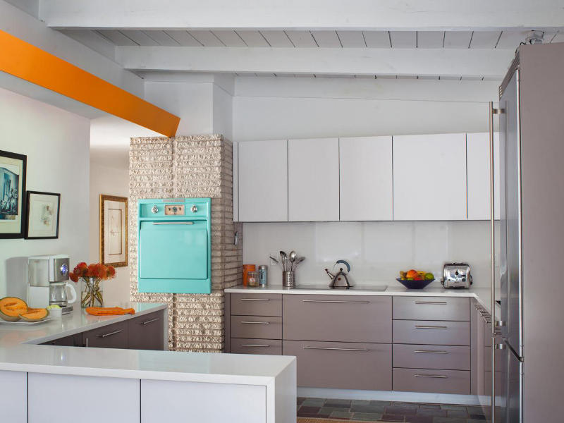 Mid,Century Modern Small Kitchen Design Ideas You\u0027ll Want to