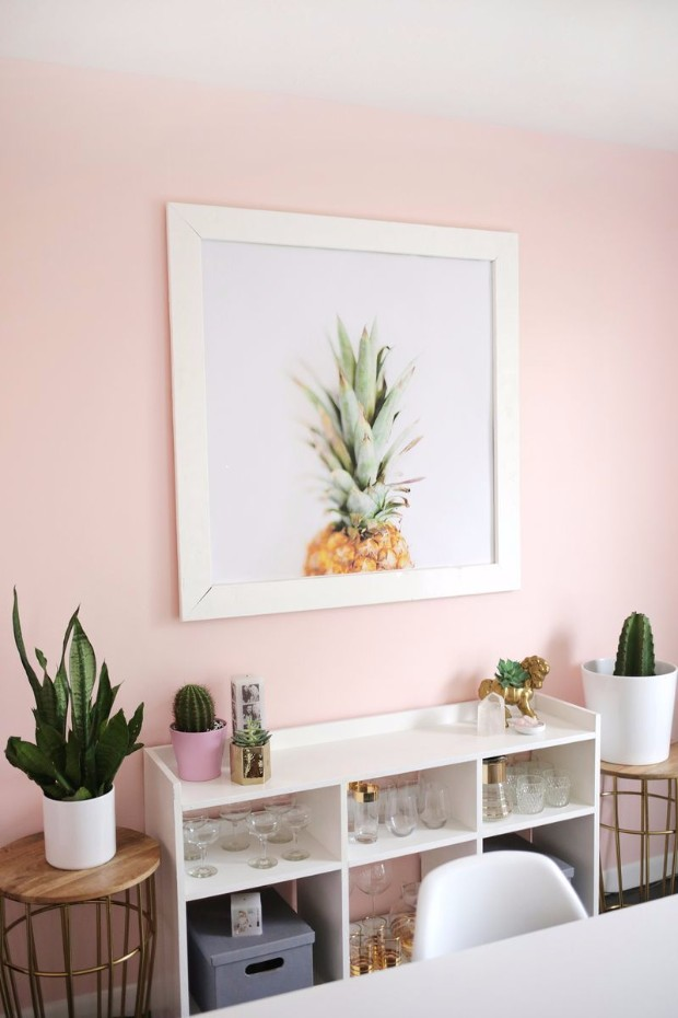 Adding A Millennial Pink Accent Wall Is Risk That Pays Off Image Boca Do Lobo