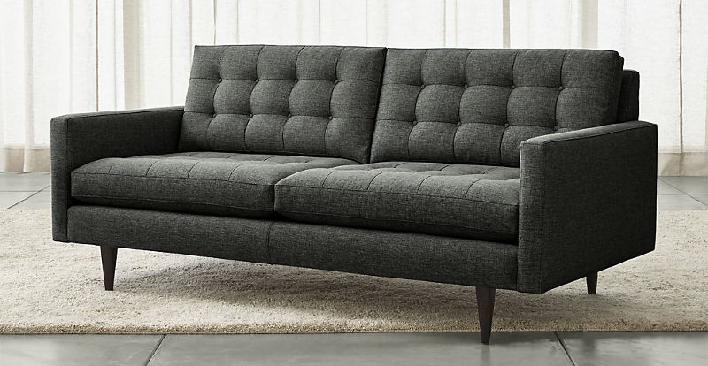 6 Petrie Small Apartment Sofa By Crate And Barrel