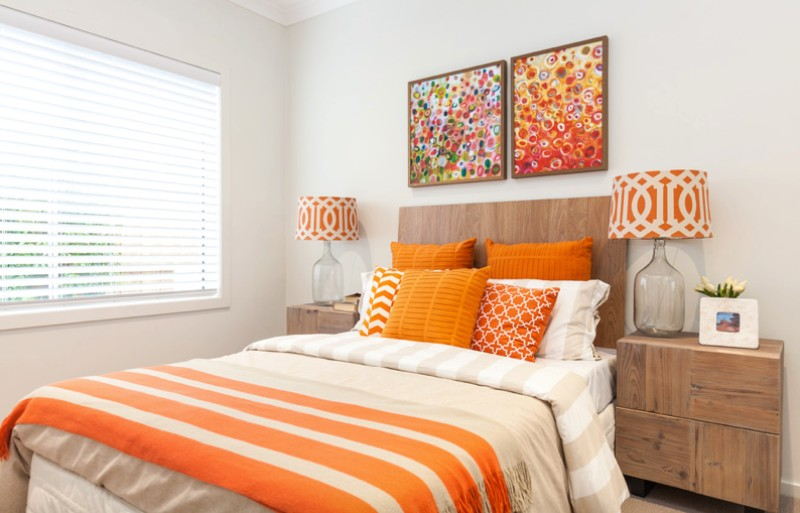 . How to Decorate with Orange to Stylishly Warm Up Any Room   Freshome com