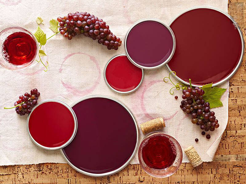 Decorating with color featuring berry and wine decorating ideas - freshome.com