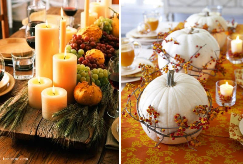 Centerpiece Ideas For Thanksgiving Freshome