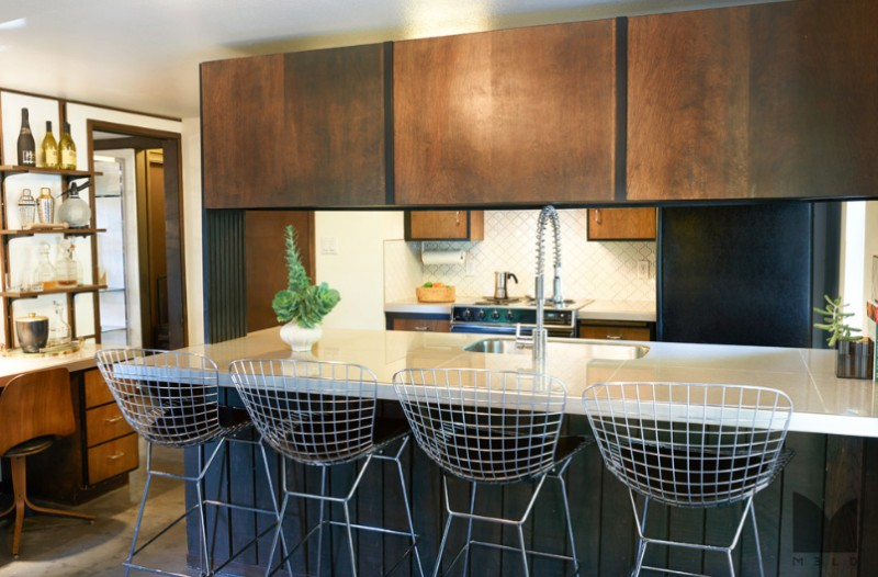 mid-century modern kitchen design ideas - freshome.com