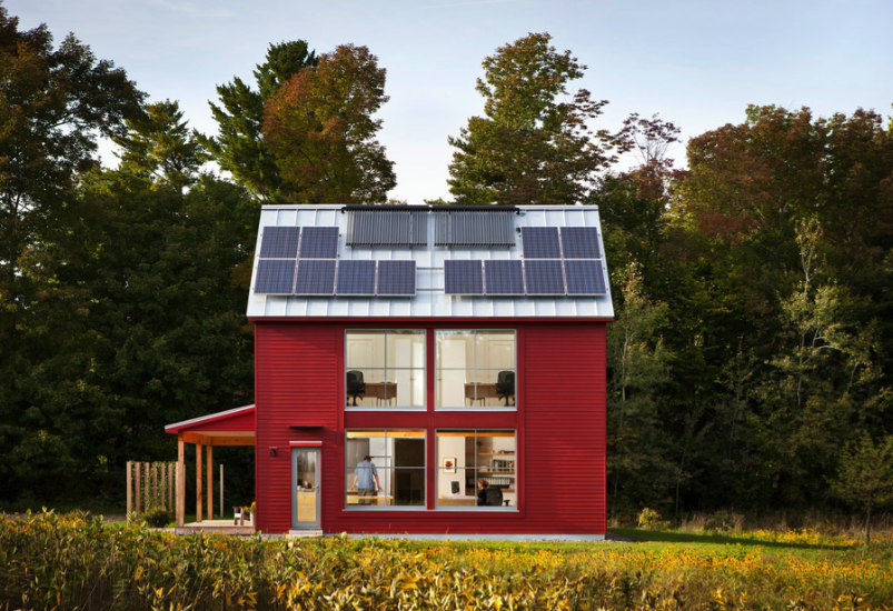 solar heating options and most energy efficient home heating systems - freshome.com