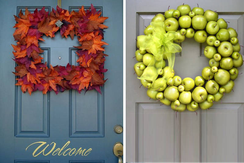 modern wreath ideas - freshome.com