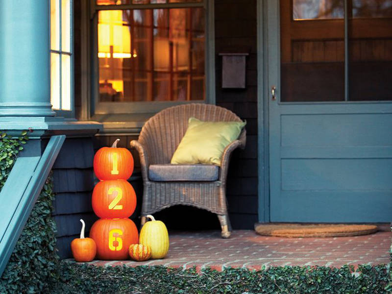 decorating with pumpkins - freshome.com
