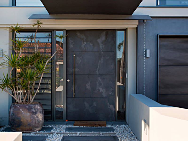 Steel Front Door Ideas Freshome