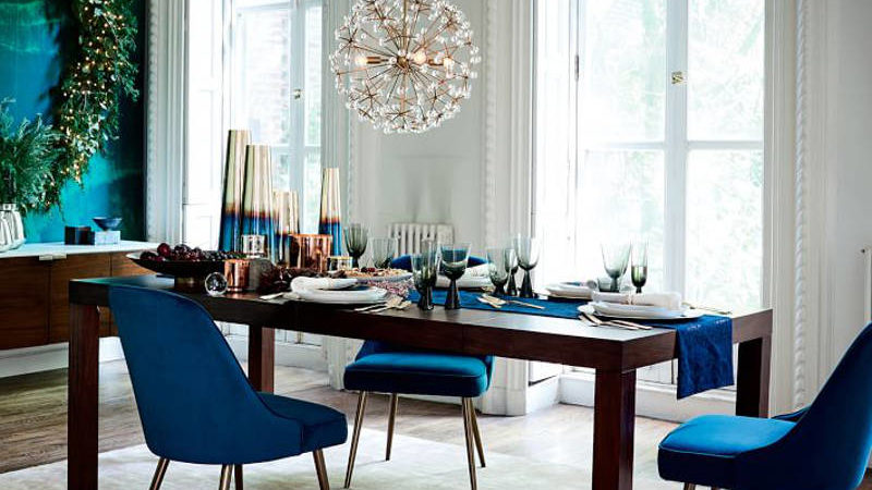 Home for the Holidays: 15 Festive Dining Chairs to Dress Up Your Table
