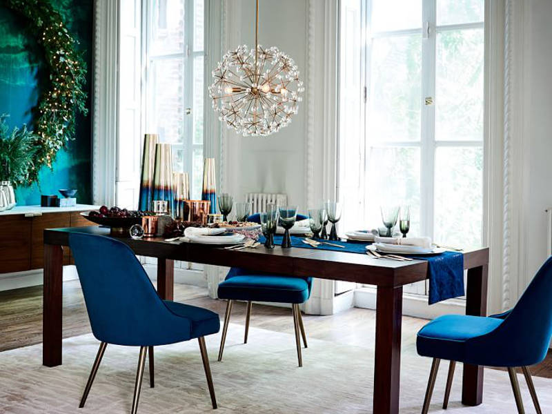 Home For The Holidays 15 Festive Dining Chairs To Dress