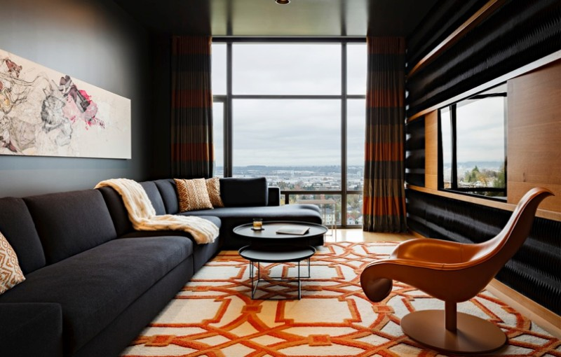 How To Decorate With Orange To Stylishly Warm Up Any Room Freshome Com