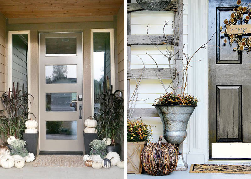 front porch decorating ideas for fall - freshome.com