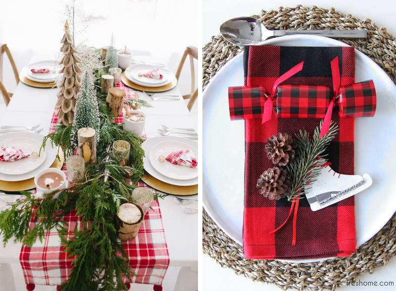 Ho Ho Whoa Simple Christmas Table Setting Ideas That Make Yours
