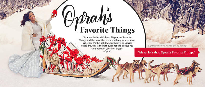 Here Are This Year's Coolest Picks from Oprah's Favorite Things