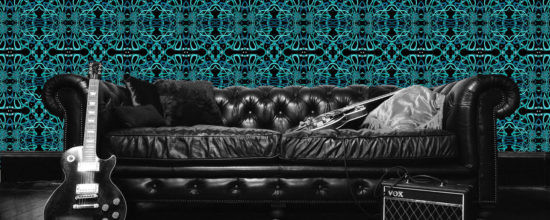 Rock Star Artist Sean Yseult Unveils New Line of Wallpaper Designs
