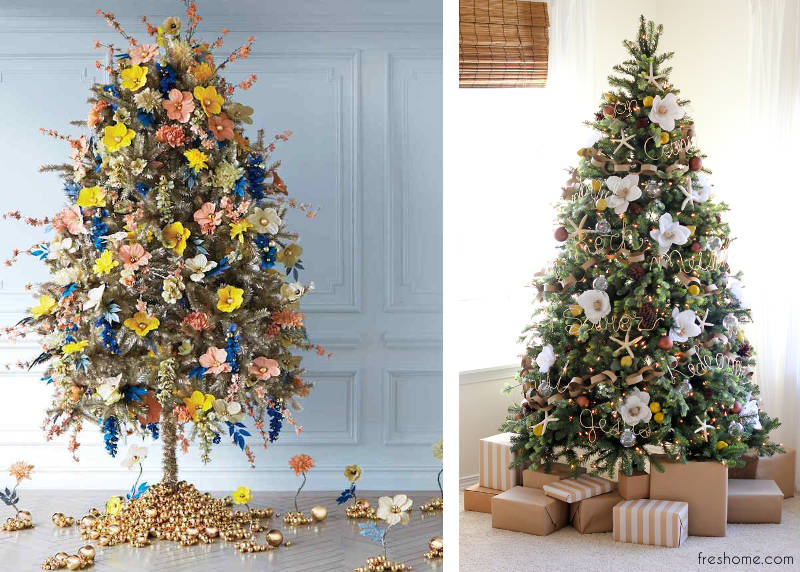 Christmas Trees Decorated.Try This Year S Christmas Tree Decorating Ideas And Trends