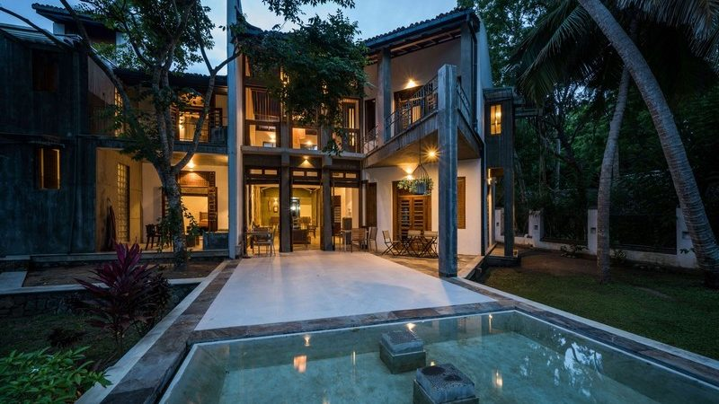 You Can Stay at This Vernacular-Style Beach House in Sri Lanka