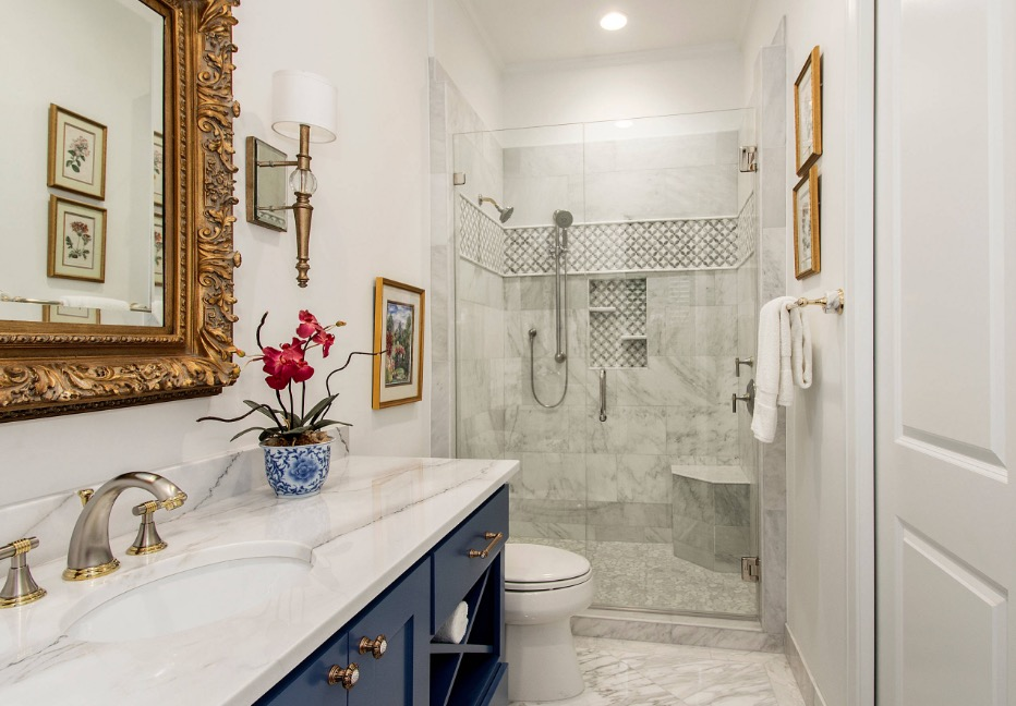 The 4 essential components to a heavenly guest bathroom - How to decorate a guest bathroom ...