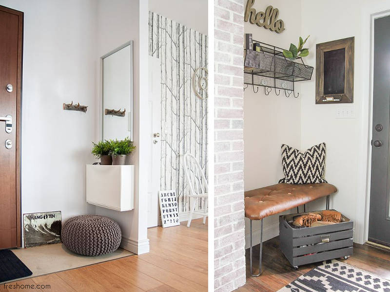 16 Functional Small Living Room Design Ideas: 16 Entry Decorating Ideas To Make You Want To Come And Go