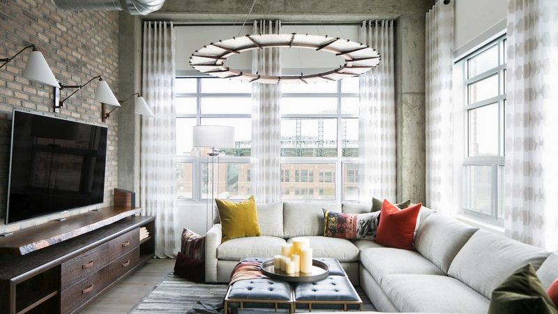 Denver Loft Exudes Fashionable, Eclectic Vibe