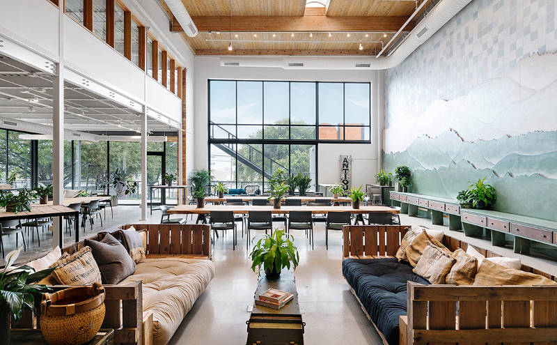 best coworking spaces and office sharing Austin